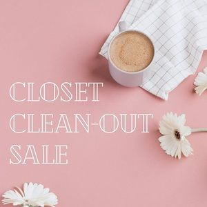 ✨CLOSET CLEAN-OUT SALE✨